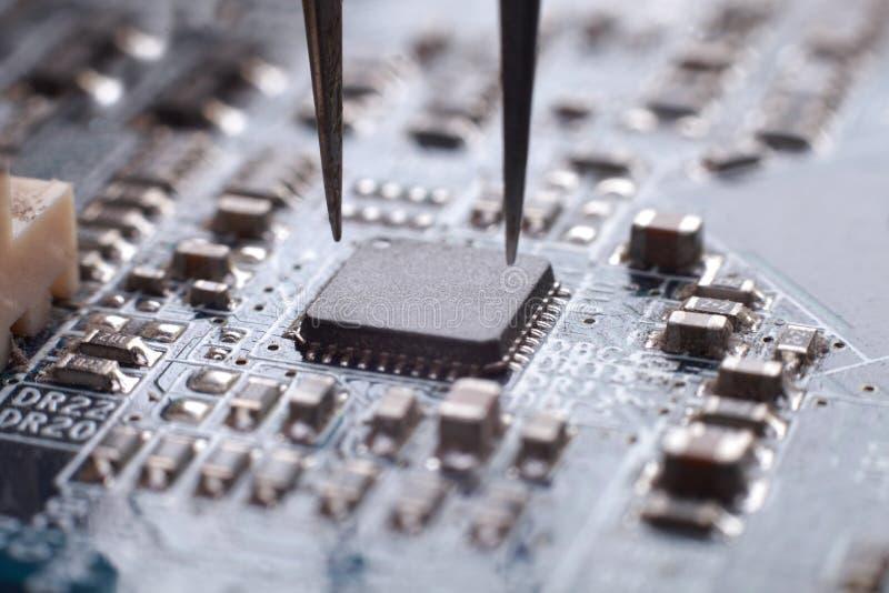 Verrat de circuit images stock