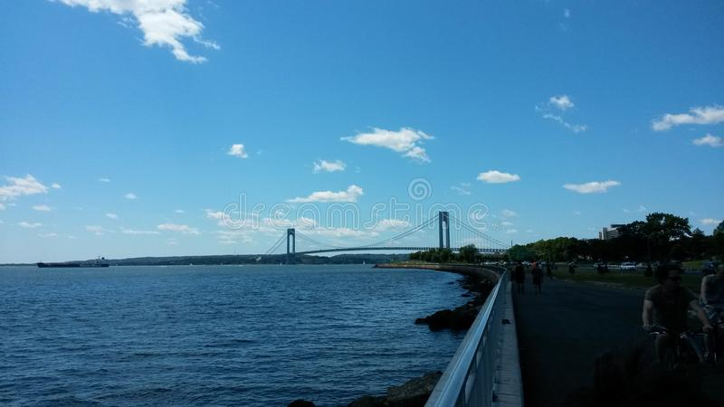 Verrazano bridge royalty free stock photo