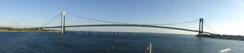 Verrazano-Enangosta el puente fotografía de archivo libre de regalías