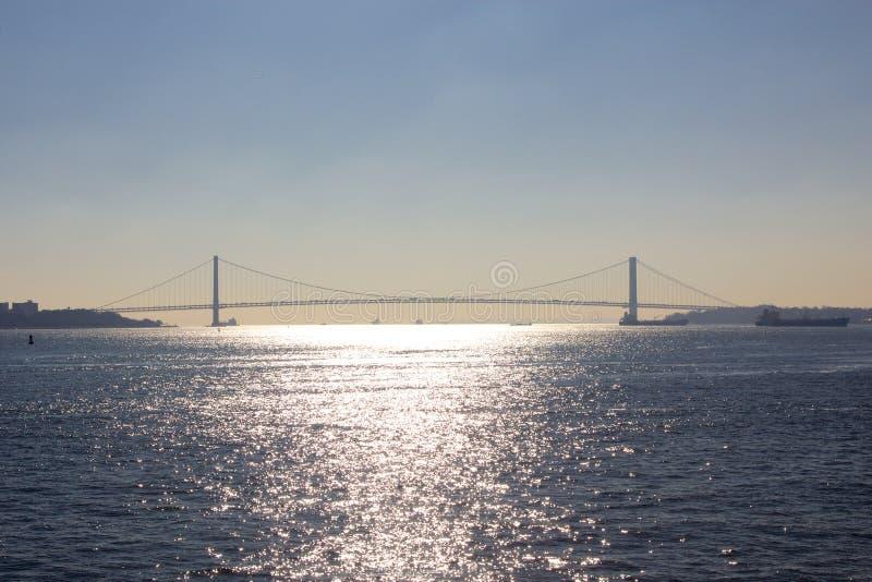 Verrazano-Estreita a ponte imagem de stock royalty free