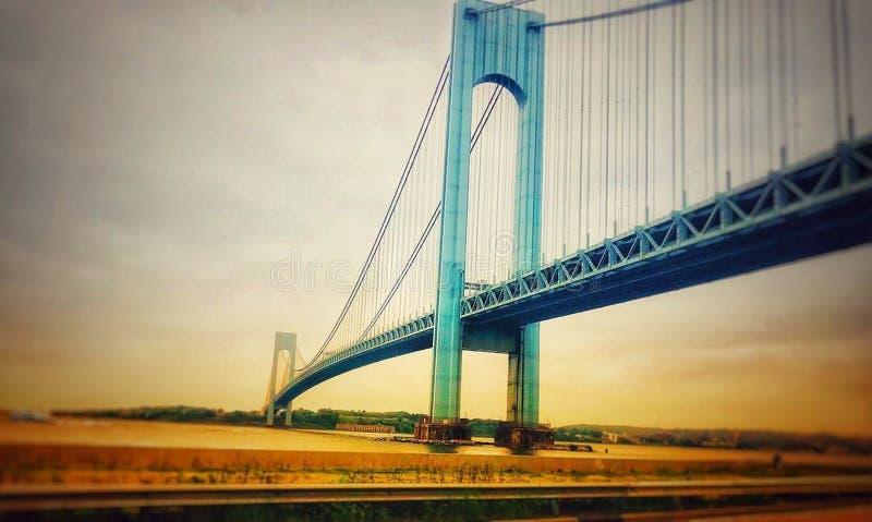 Verrazano-Narrows Bridge royalty free stock photography