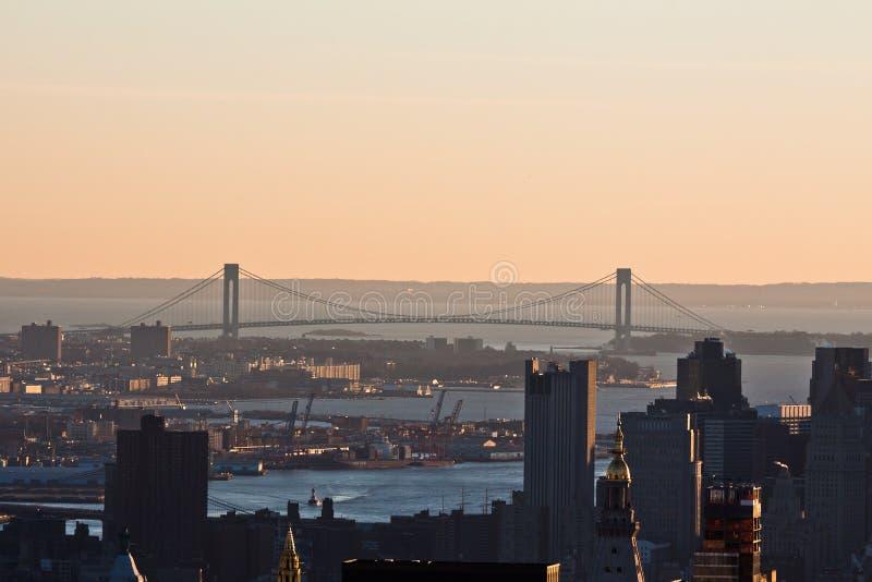 Download Verrazano Narrows Bridge New York City Stock Image - Image: 22532103