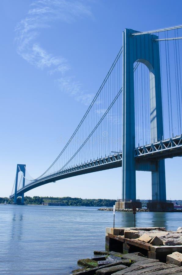 Verrazano przesmyków most zdjęcia stock