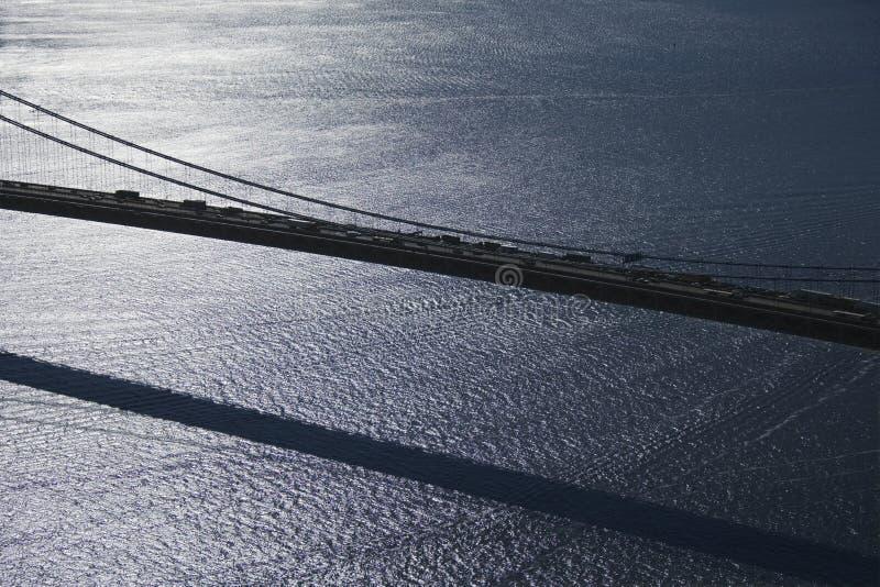 Verrazano-Verengt Brücke, NY stockfotos