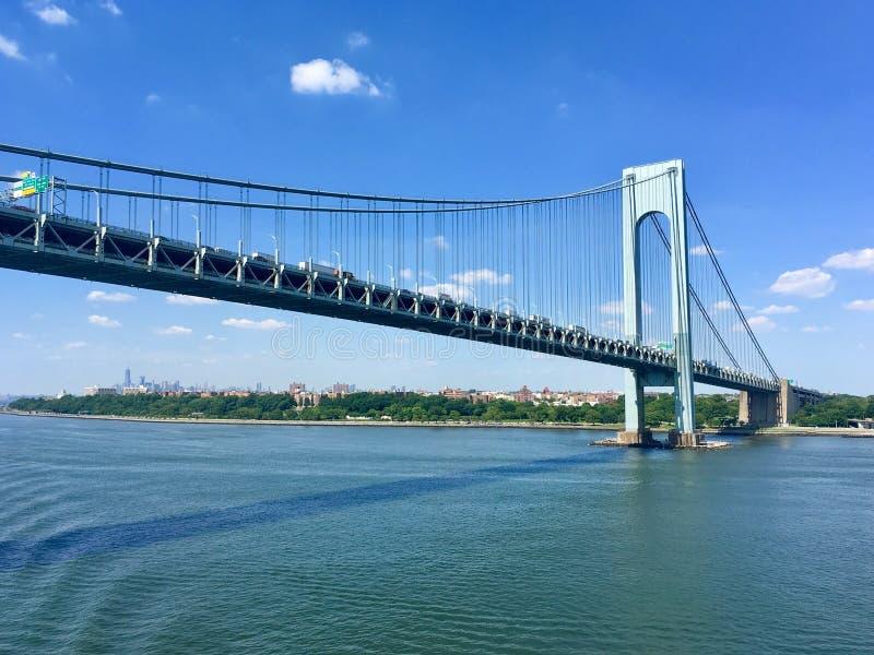 Verrazanobrug, NY royalty-vrije stock afbeeldingen