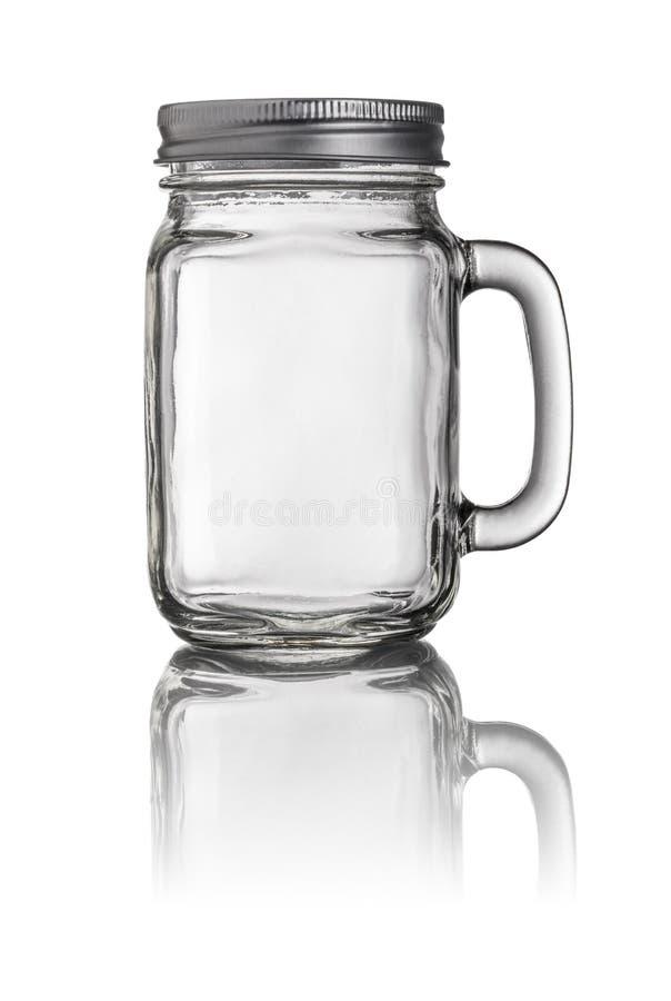 Verre à boire de Mason Jar images stock
