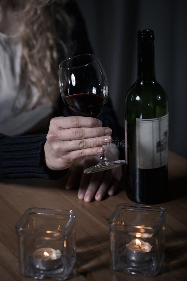 Verre à boire de vin photos libres de droits