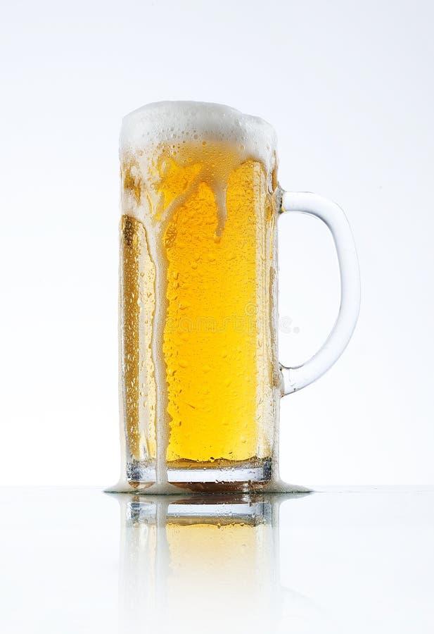 Verre de bière image stock