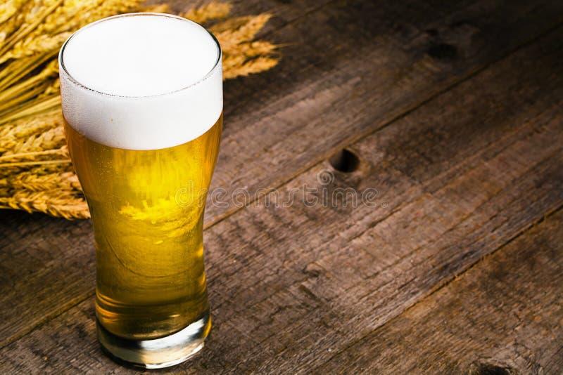 Verre de bière image libre de droits