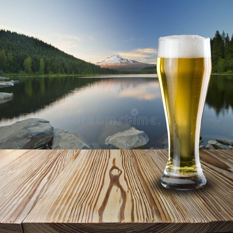 Verre de bière froide photo libre de droits