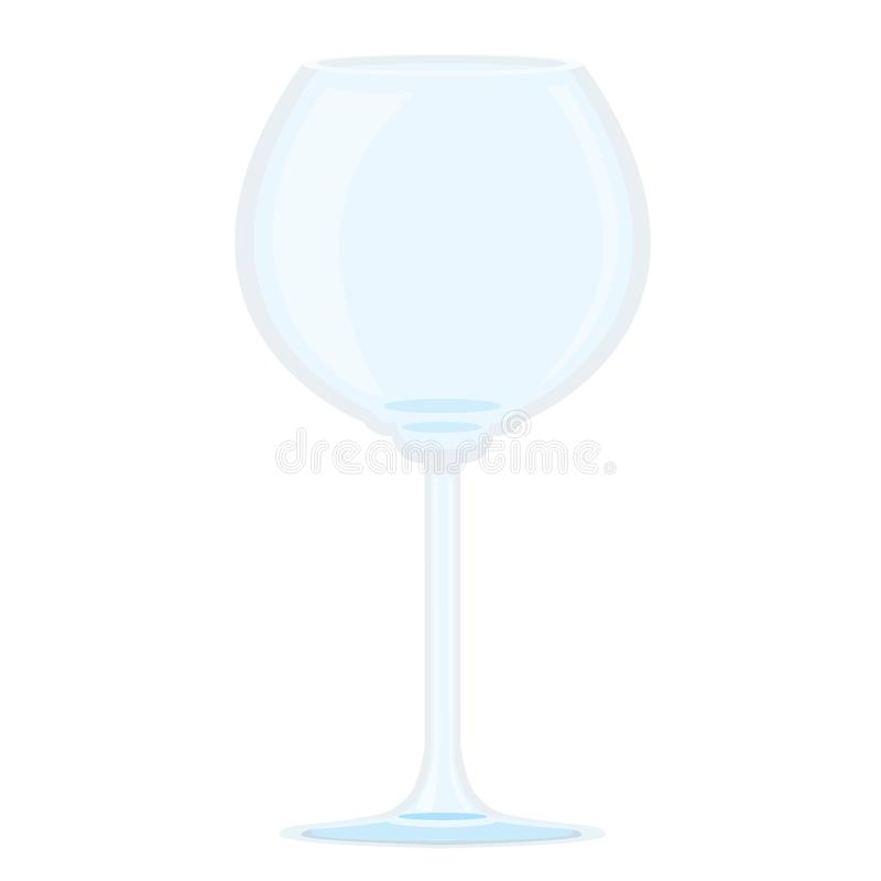 Verre de champagne illustration stock