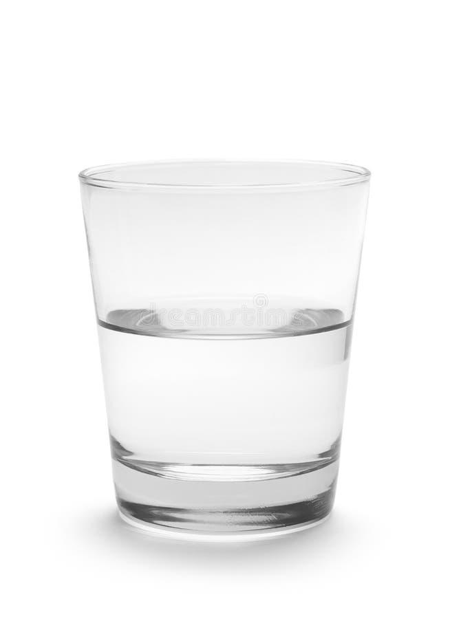Verre de l'eau photographie stock
