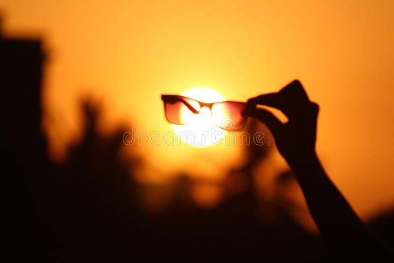 Verre de Sun photos stock