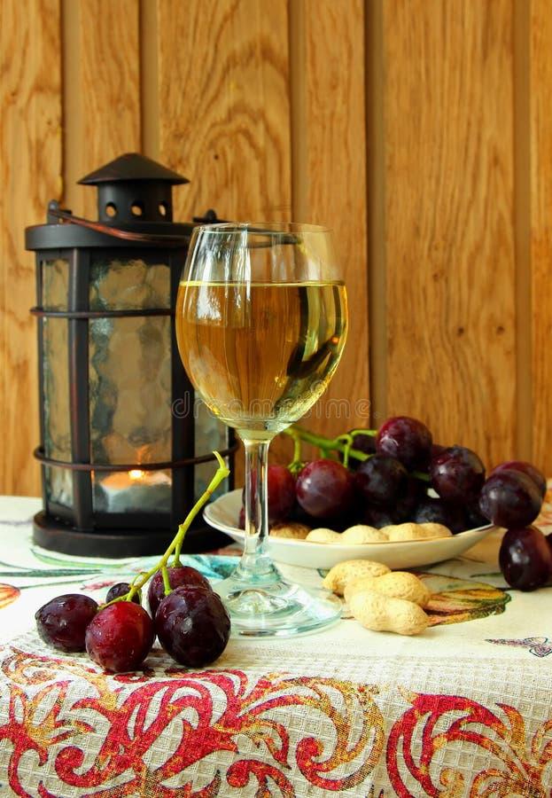 Verre de vin sec image libre de droits