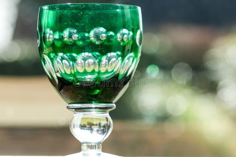 verre de vin vert photo stock image du grand vert booze 51300250. Black Bedroom Furniture Sets. Home Design Ideas