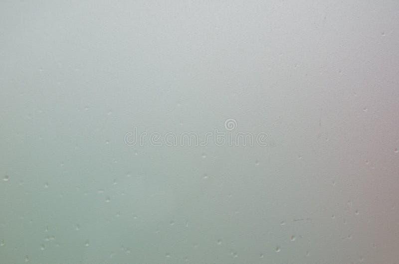 Verre flou humide de miroir image stock