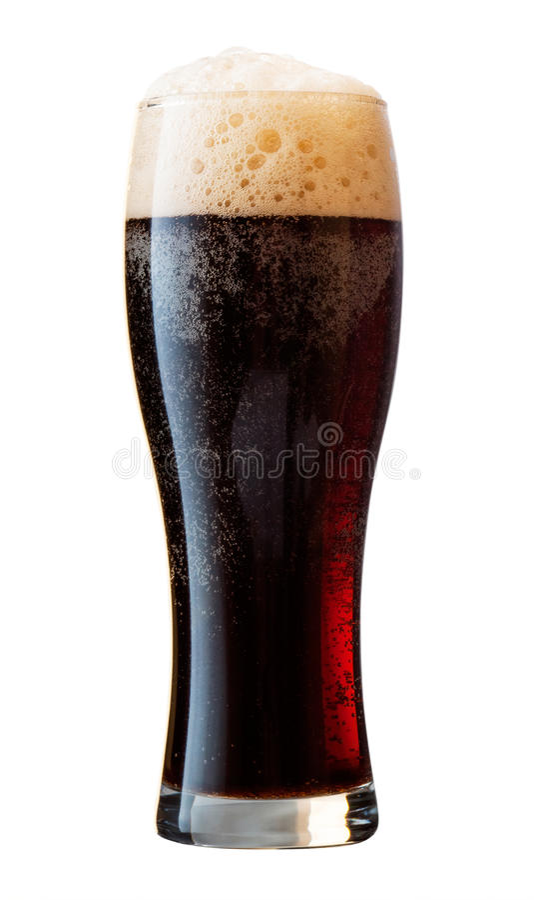 Bière noire photo stock