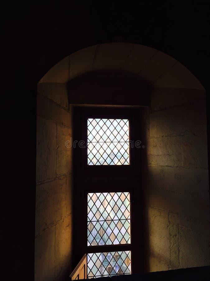 Verre gothique photo libre de droits