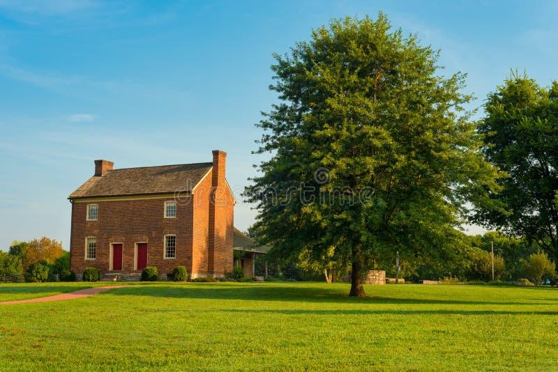 Verre het Huis van de Bowenaanplanting royalty-vrije stock afbeelding