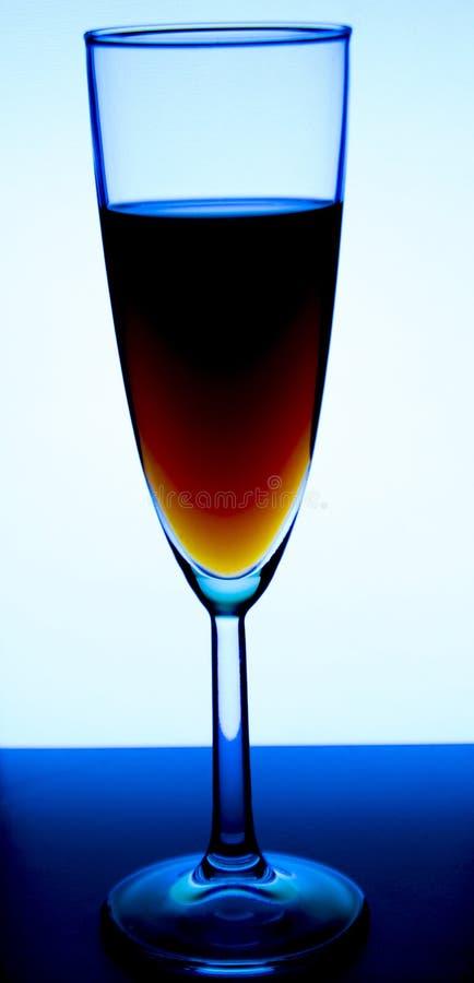 Verre ou stemware avec du vin d'alcool, le whiskey, le genièvre, la bière, le rhum, la vodka, écossais, cognac, boisson alcoolisé photos stock