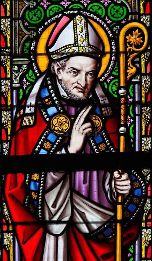 Verre souillé - saint Alphonsus photo libre de droits
