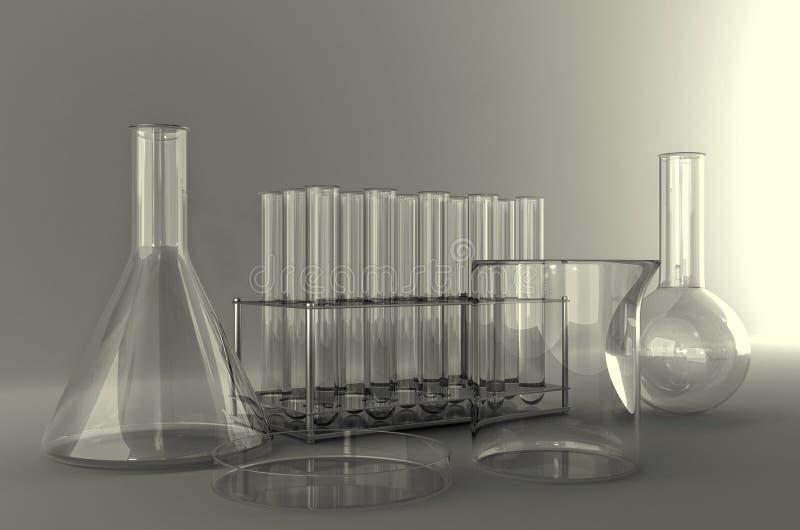 Verrerie de laboratoire photos stock