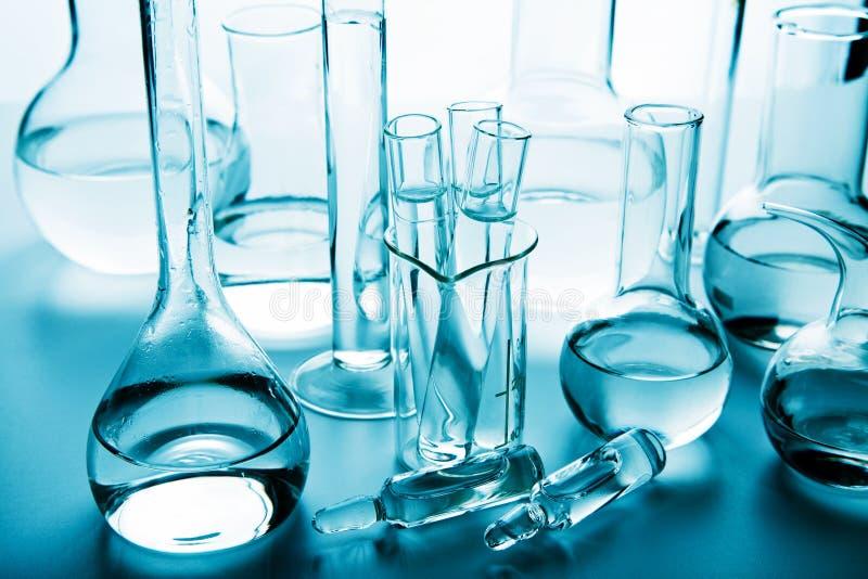 Verrerie de laboratoire chimique photos libres de droits