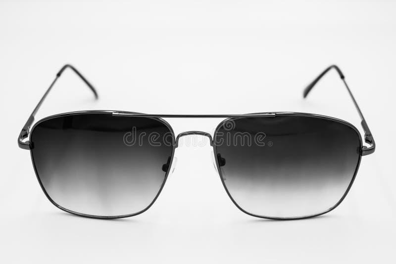 Verres de soleil UV d'écran qui refroidissent très l'american national standard futé pour les hommes et des femmes d'isolement su image libre de droits