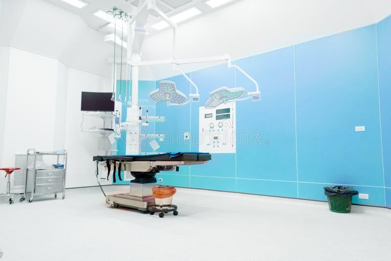 Verrichtingsruimte in het ziekenhuis Noodsituatie en Gezondheidszorgconcept Redding en Chirurgieconcept Arts en Medisch thema royalty-vrije stock afbeeldingen