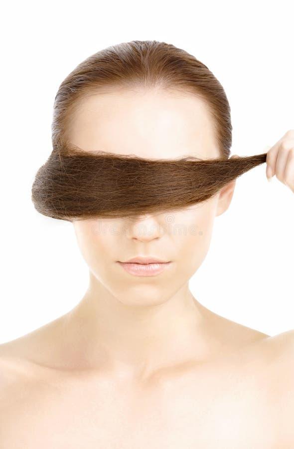 Verriegelung des Haares stockbilder