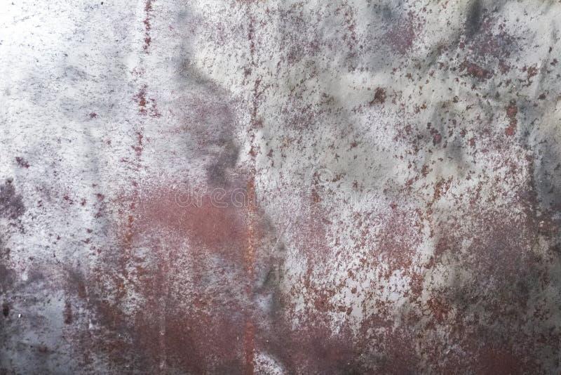 Verrostet auf Oberfl?che des alten Eisens, masert Verschlechterung des Stahls, Zerfall und Schmutz Hintergrund stockbilder