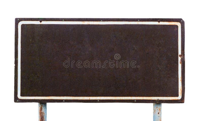 Verrostete Eisenplatte stockfotos