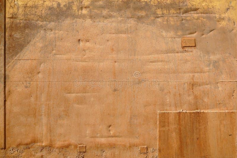 Verrostete Stützmauer der Metalloberfläche stockfotos