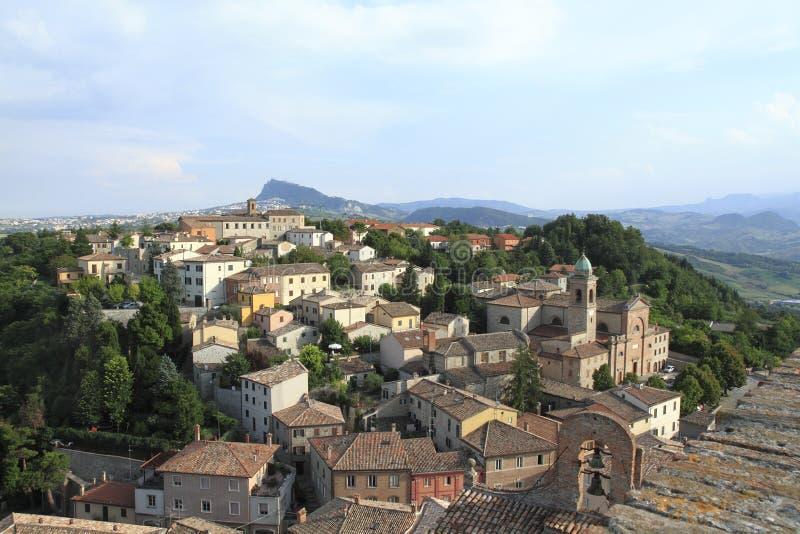 verrucchio Италии rimini стоковые фото