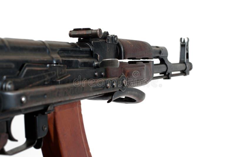 Versão do airborn de AKMS da espingarda de assalto do Kalashnikov imagem de stock