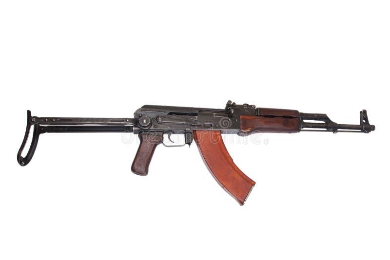 Versão do airborn de AKMS da espingarda de assalto do Kalashnikov imagens de stock royalty free