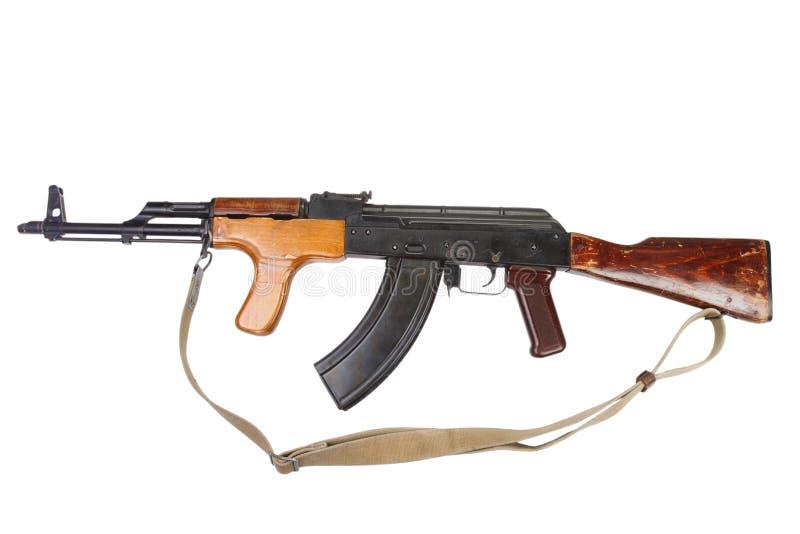Versão do Romanian do Kalashnikov AK 47 foto de stock