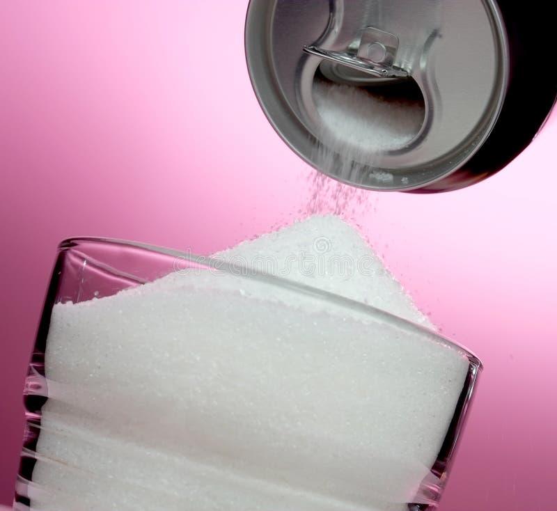 Versüßtes Getränk stockbilder
