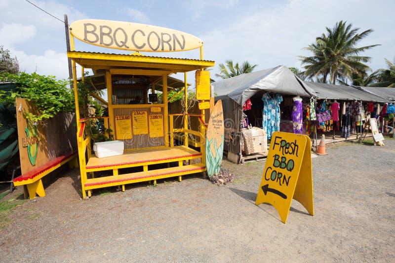 Vers BBQ Graan Oahu Hawaï royalty-vrije stock foto's