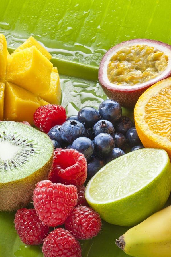 Vers besnoeiingsfruit royalty-vrije stock afbeelding
