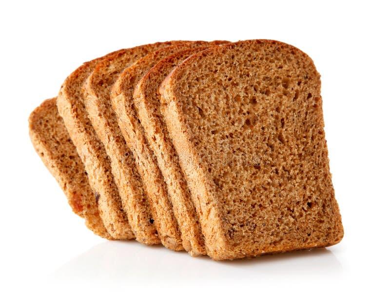 Vers brood met plakken stock fotografie