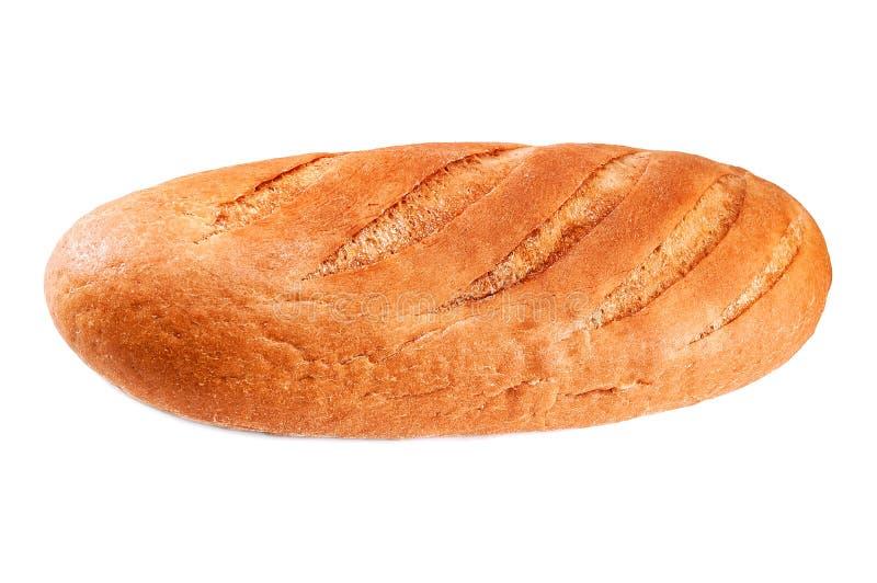 Vers brood op wit stock afbeeldingen