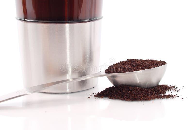 Vers de Koffie van de Grond stock foto's