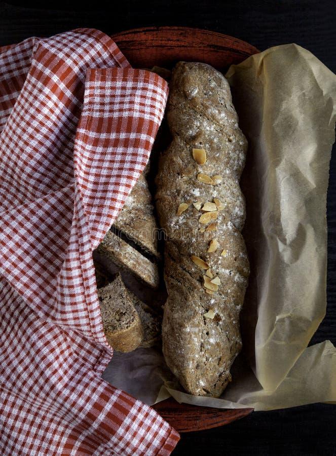 Vers eigengemaakt brood stock afbeeldingen