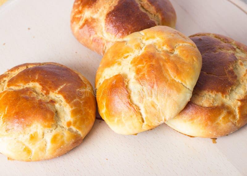 Vers eigengemaakt brood stock foto