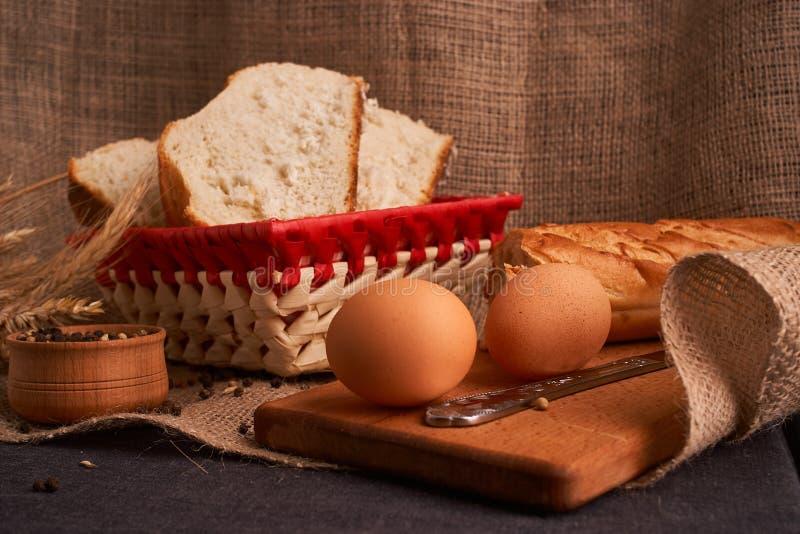 Vers Eigengemaakt Brood kernachtig Brood bij zuurdeeg Ongedesemd brood Dieet brood royalty-vrije stock foto