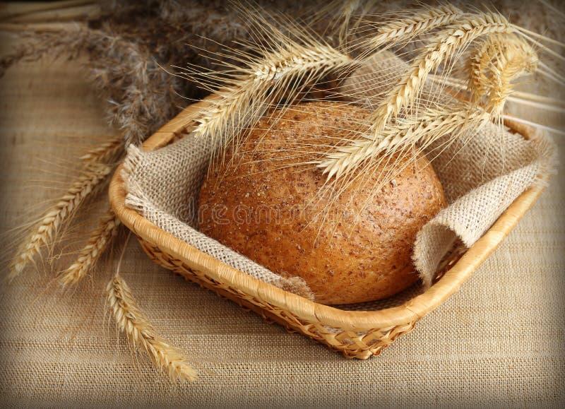 Download Vers Eigengemaakt Roggebrood In Mand Stock Foto - Afbeelding bestaande uit warm, brood: 29502028