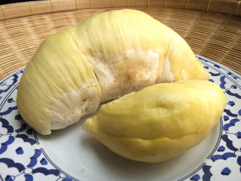 Vers en sweer Durian royalty-vrije stock afbeeldingen