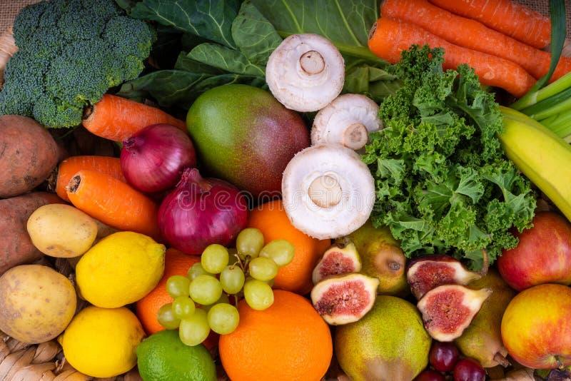 Vers fruit en groente stock fotografie
