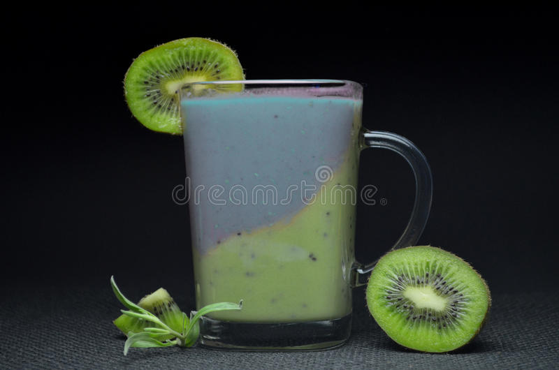 Vers Fruit Smoothie stock afbeelding